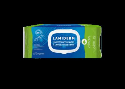 LAMIDERM® reinigingsdoekjes op basis van olijfolie