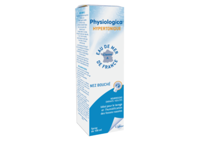 PHYSIOLOGICA® hypertonisch zeewater 100ml