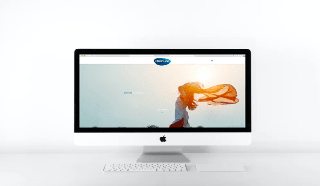 Le nouveau site web Biocure est en ligne!